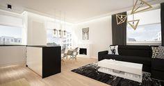 Mieszkanie prywatne 2 pokoje - Apartamenty na Polanie - Ekolan - Gdynia   Architekt wnętrz - Gdańsk, Gdynia, Sopot - Dragon Art