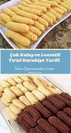 Subway Cookie Recipes, Easy Cookie Recipes, East Dessert Recipes, Chocolate Garnishes, Gourmet Cookies, Most Delicious Recipe, Sweet Cookies, Turkish Recipes, Food To Make