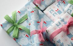 free christmas wrapping paper printable / bloesem kids