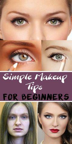 Simple Makeup Tips for Beginners - Splendour Tips