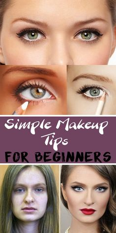 Simple Makeup Tips for Beginners - Splendour Tips