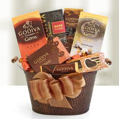 Godiva Dark Chocolate Decadence Gift Basket GODIVA Chocolatier http://www.amazon.com/dp/B005U4G2IU/ref=cm_sw_r_pi_dp_0OfMtb0AE97N3K8R