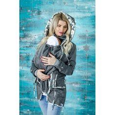Sivá softshellová parka, je vhodná do chladnejšieho počasia a pomocou vrstvenia i na zimu. Softshell, Parka, Winter Jackets, Fashion, Winter Coats, Moda, La Mode, Hoodie, Fasion