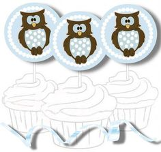 Free Printable Cupcake Toppers and Stickers -