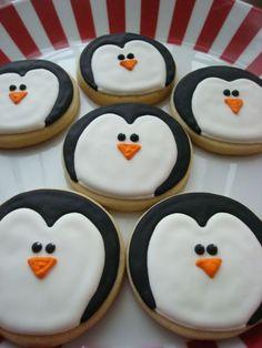 En Güzel Yılbaşı (Yeni Yıl) Kurabiyeleri için 7 Muhteşem Öneri | elitstil new year cookies penguins