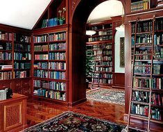 wall to wall books(: yes please