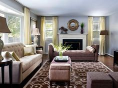 living room design styles | hgtv, living rooms and living room styles