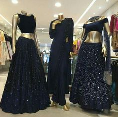 Gorgeous designer lehenga by Neeta Lulla. Amidst her stylish and chic lehenga designs, you will find you dream one for sure! Stylish Dresses, Nice Dresses, Fashion Dresses, Indian Designer Outfits, Designer Dresses, Indian Dresses, Indian Outfits, Neeta Lulla, Lehnga Dress
