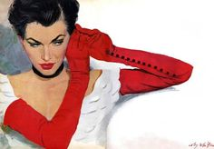 Maxwell Coburn (Coby) Whitmore (1913 – 1988) was one of the leading illustrators of the mid twentieth century.He was born in Dayton Ohio where he attended the Dayton Art Institute.After an indenture with the 'Sundblom Circle', in 1943 he relocated to New York City where he joined the Charles E Cooper studio on West 57th Street.It was here that he would spend the bulk of his career working alongside fellow art-supremo Jon Whitcombe. https://www.pinterest.com/justincgordon/coby-whitmore/