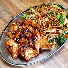 Sticky Hoisin Chicken Hoisin Chicken, Easy Chicken Curry, Crispy Chicken, Lemon Chicken, Slimming World Chicken Dishes, Slimming World Sticky Chicken, Cooking Recipes, Healthy Recipes, Free Recipes