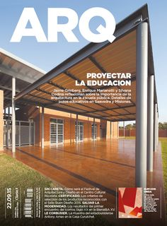 Tapa de la edición impresa de ARQ del martes 22 de septiembre de 2015