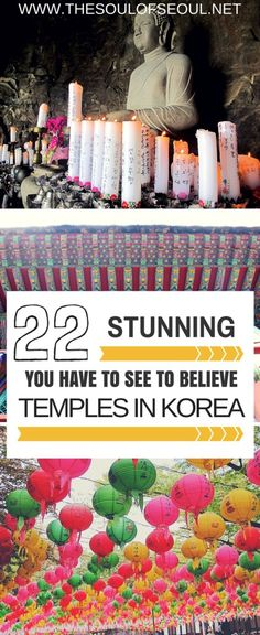 22 Temples You Have to See To Believe: There are around 900 traditional Buddhist temples in Korea inviting one and all in for quiet meditation and calm surroundings. Ranging in size, sitting on mountainsides and seasides, they all have one thing in common: they are stunning. Check out these 22 Stunning Buddhist Temples in Korea You Have To See To Believe.