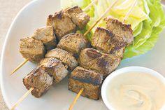 Paprika Beef Skewers Recipe - Taste.com.au
