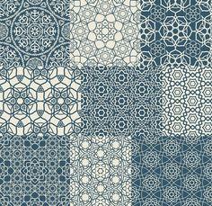 Arabic patterns - Patterns