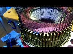 How to unknit stitches on a CSM (circular sock machine)