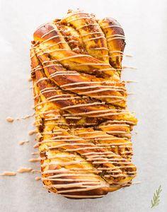 Pecan Recipes, Pumpkin Recipes, Fall Recipes, Cooking Recipes, Pumpkin Bread, Pumpkin Pie Spice, Pumpkin Puree, Yeast Bread, Bread Baking