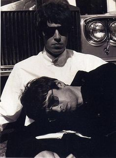 Liam & Noel Gallagher from Oasis