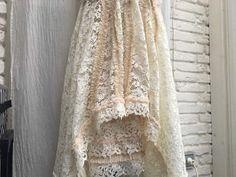 Elegante Röcke - Rock, Spitze, Shabby, Boho, Vintage, Brocante - ein Designerstück von TASCHENWERK-C-S- bei DaWanda