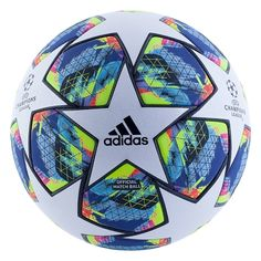 Adidas Finale 19 is the official match ball of the UEFA Champions League season. &ltBR&gtTest yourself and raise your game with the same official match ball . Nike Football Kits, Adidas Football, Football Shoes, Football Soccer, Soccer Ball, Football Players, Girls Soccer Cleats, Soccer Gear, Soccer Boots