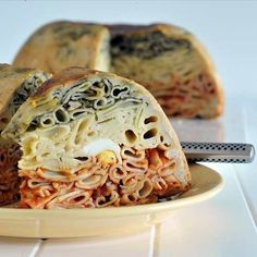 Timpano! The Infamous Dish From The Movie Big Night (time-consuming But Not Difficult).