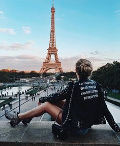 Travel bucket list goals: Paris, France and the Eiffel Tower over 1000 followers heart