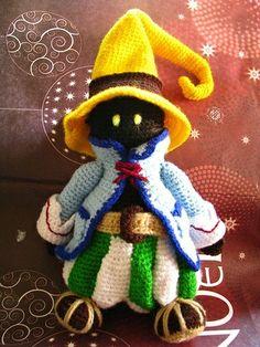 Amigurumi Vivi Free Patterns : 1000+ images about ViVi on Pinterest Final fantasy ix ...