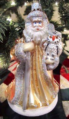Waterford  Holiday Heirloom Opulence Santa Ornament  Ebay