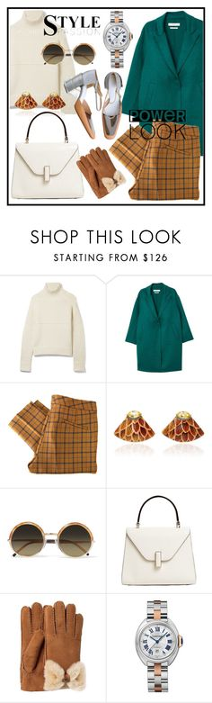 """""""Casual Weekend Outfit"""" by elenzark ❤ liked on Polyvore featuring Burberry, MANGO, See by Chloé, Silvia Furmanovich, Cutler and Gross, Valextra and UGG"""