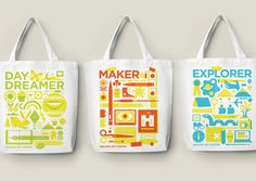 ILLUSTRATED TOTE BAGS FOR WALKER ART CENTER