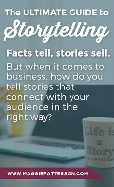 MARKETING || Using stories to support your messaging in all of your marketing will help you sell your message, your products & services.