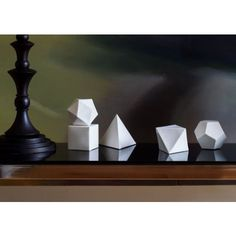 The Scholar's Set Platonic Solid, Mood Images, Bookends, Lounge, Interior, Models, Decorating, Accessories, Landscape