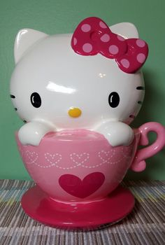 Handmade hello kitty crystal piggy bank rhinestone diamond 6 5 5 u s seller ebay sanrio - Rhinestone piggy bank ...