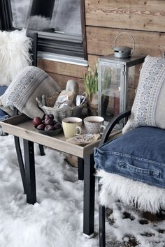 Blogg Home and Cottage: Vinterferiekos på fjellet