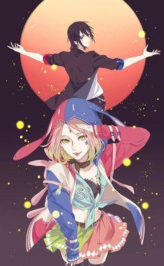 sasusaku and sakura haruno image