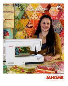 Patchwork Prism quilt - free pattern @ Anna Maria Horner