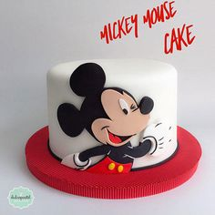 Torta Mickey Mouse Medellín by Giovanna Carrillo