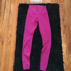 lululemon pants long pink lululemon pants. size 6. lululemon athletica Pants