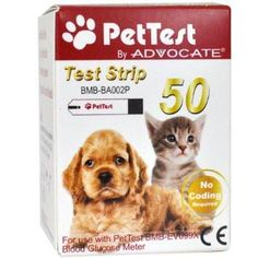 Advocate PetTest Strip - Box of 50