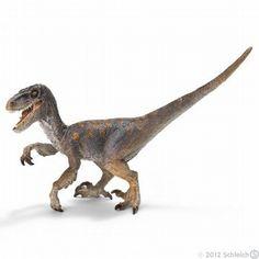 Schleich Dinosaur Velociraptor Toy Model $11.99 in stock & ships same day! Shop www.DinosaurToysSuperstore.com