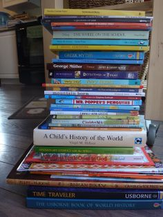The Unplugged Family: Homeschooling 2013/2014 (and why I love Sonlight so much!)