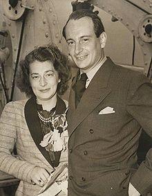 Luigi Ferdinando di Prussia (1907-1994) con la consorte Kira kirillovna  Romanova