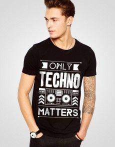Only Techno T-shirt T Shirty, Man Fashion, Techno, Mens Tops, Shopping, Moda Masculina, Fashion Men, Men's Fashion Styles, Techno Music