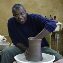 From the first moment Larry Allen saw vessels formed on the potter's wheel, he was fascinated. To this day Allen still has not forgotten the fascination he first felt. Allen has exhibited and sold my work throughout the United States. All the pottery work from start to finish is done solely by himself.