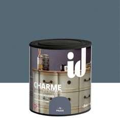 Peinture pour meuble, objet et porte, poudré, ID, Charme, prusse 0.5 l