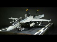 Fighter Aircraft, Fighter Jets, F18 Hornet, Military Action Figures, Model Hobbies, Vintage Air, Military Diorama, Aviation Art, Model Airplanes