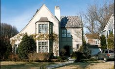 Local #PNC Bank head Michael #Harreld sold this 4-bedroom, 5-bath  #ChevyChase Tudor for $2.1 million. The buyer was #lawyer William J. #Curtin III, a partner at the law firm #HoganLovells. 2/2011. #washington #dc #maryland #house #home #celebrity #luxury #deal