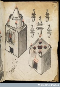 Manuscript on alchemical processes, by Raymundus Lullius