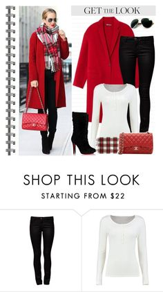"""""""Untitled #1265"""" by gallant81 ❤ liked on Polyvore featuring ONLY, Boohoo, Christian Louboutin and Chanel"""