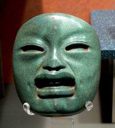 Masque olmèque