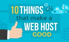 Hello friends, Today I'm here with a great Infographic about10 Things That Makes a Web Hosting Good Created by HostingFacts Team. Here you find the every essential things that are the backbone of Web Hosting. Here You can checkTop 5 Best Cheapest and Reliable Web Hosting to Usefor your next Online project. Must Read:How to